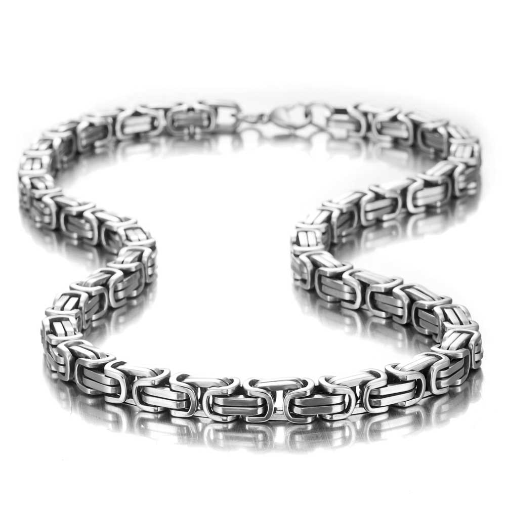 Stainless steel mechanic style masculine men 39 s necklace for High design jewelry nyc